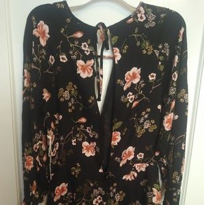 Forever 21 romper with floral design